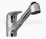 Armatura sa tušom za sudoper i kutnim ventilima