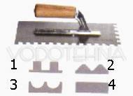 GLADILICA nazubljena 28x12cm