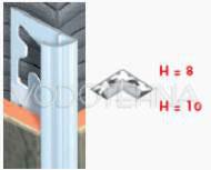 Garnitura profila za kut 2-1 - AL 2