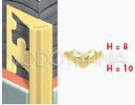 Rondbras - Garnitura profila za kut 2-1 - mesing