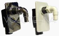 SIFON za perilicu PVC - podžbukni