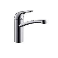 FOCUS E- mješalica za sudoper s dvije cijevi