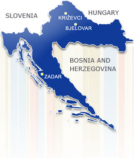 Bjelovar Križevci Zadar VODOVOD PRODAJNI CENTAR BJELOVAR